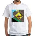 better falling rock White T-Shirt