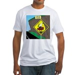 better falling rock Fitted T-Shirt