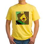better falling rock Yellow T-Shirt