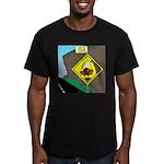 better falling rock Men's Fitted T-Shirt (dark)