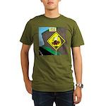 better falling rock Organic Men's T-Shirt (dark)