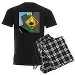 better falling rock Men's Dark Pajamas