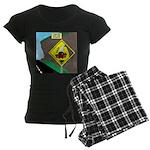 better falling rock Women's Dark Pajamas