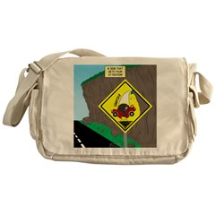 better falling rock Messenger Bag