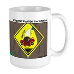 better falling rock Large Mug