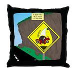 better falling rock Throw Pillow