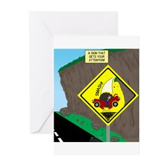 better falling rock Greeting Cards (Pk of 10)