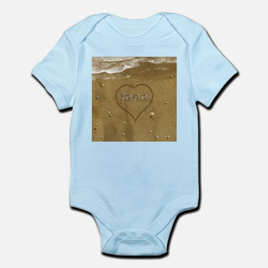 Jana Beach Love Infant Bodysuit