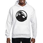 Thoughtful Monkey 2 - Black Hoodie