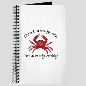IM ALREADY CRABBY Journal