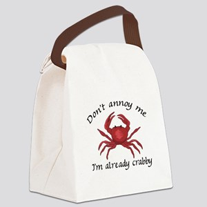 IM ALREADY CRABBY Canvas Lunch Bag
