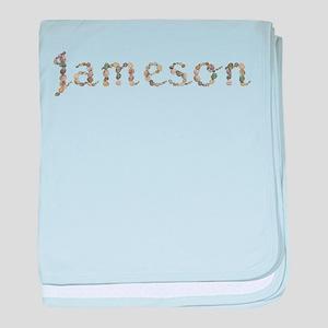 Jameson Seashells baby blanket