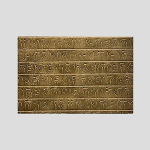 Hieroglyphics. Rectangle Magnet