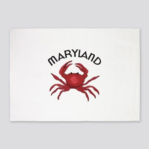 MARYLAND CRAB 5'x7'Area Rug