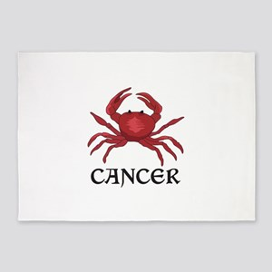 CRAB CANCER ZODIAC 5'x7'Area Rug