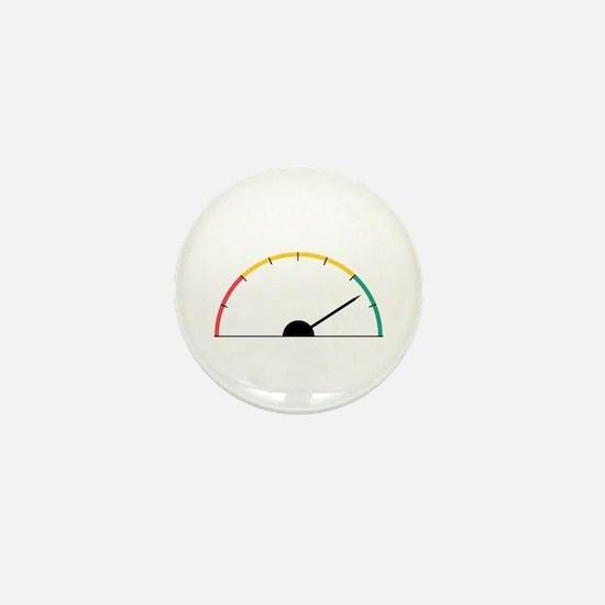 Speed Gauge Mini Button
