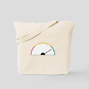 Speed Gauge Tote Bag