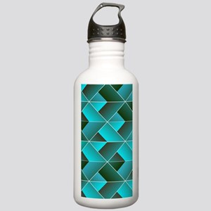 Geometric abstract Stainless Water Bottle 1.0L