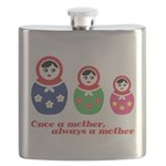 Once a mother, always a mother Flask
