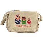 Once a mother, always a mother Messenger Bag