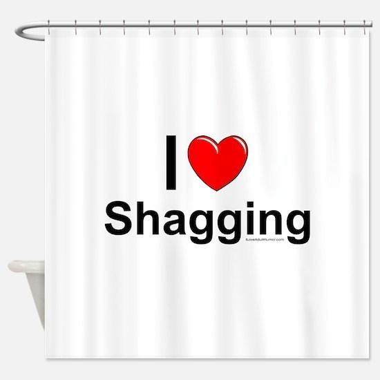 Shagging Shower Curtain
