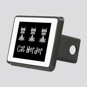 Cat Herder - job humor wit Rectangular Hitch Cover