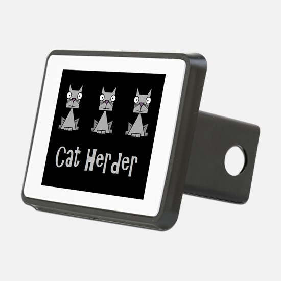Cat Herder - job humor wit Hitch Cover