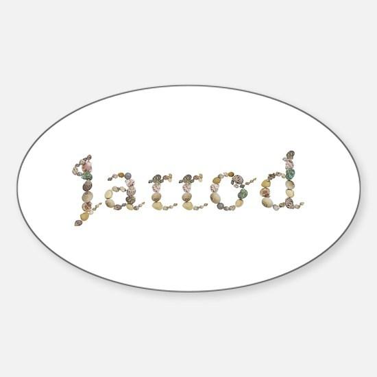 Jarrod Seashells Oval Decal