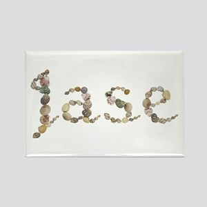 Jase Seashells Rectangle Magnet