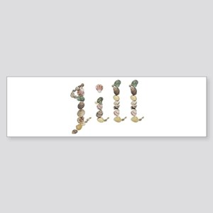Jill Seashells Bumper Sticker