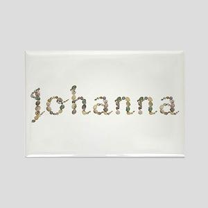 Johanna Seashells Rectangle Magnet