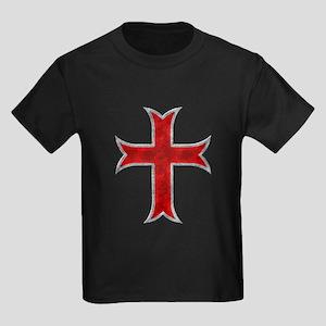 Templar Cross Kids Dark T-Shirt