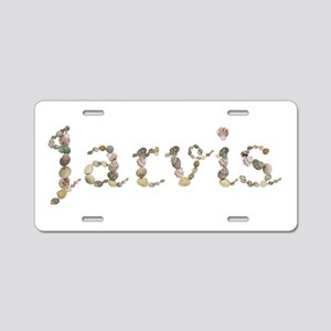 Jarvis Seashells Aluminum License Plate