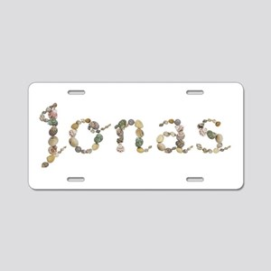 Jonas Seashells Aluminum License Plate