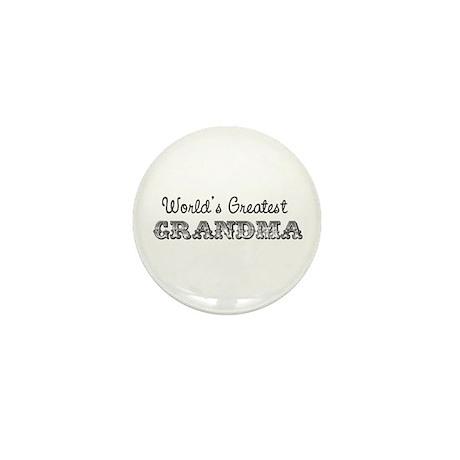 World's Greatest Grandma Mini Button