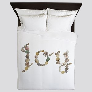 Joy Seashells Queen Duvet