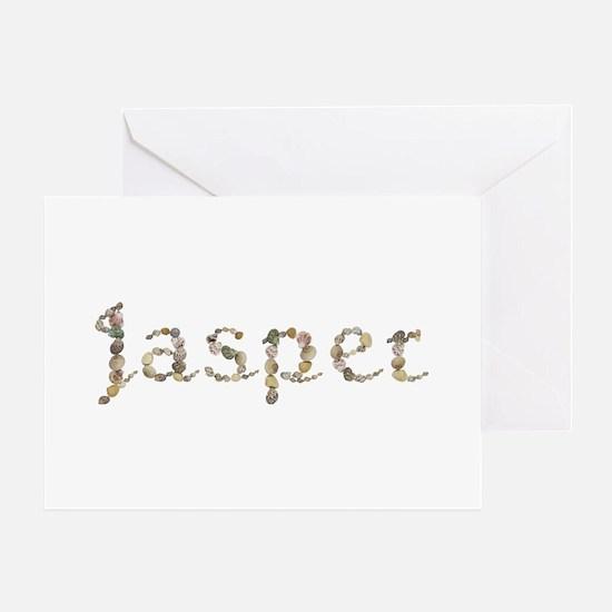 Jasper Seashells Greeting Card