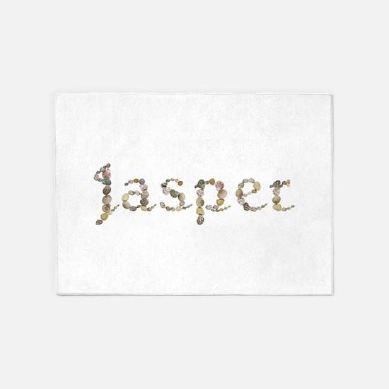 Jasper Seashells 5'x7' Area Rug