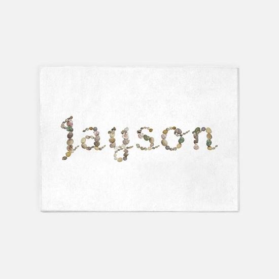 Jayson Seashells 5'x7' Area Rug