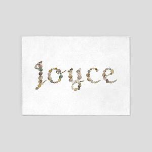 Joyce Seashells 5'x7' Area Rug