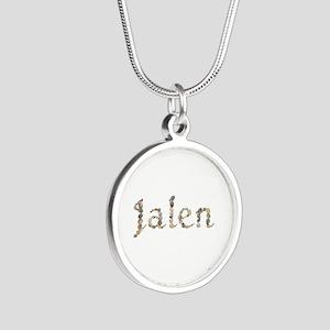 Jalen Seashells Silver Round Necklace