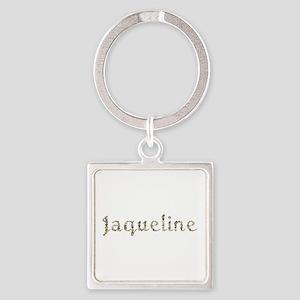 Jaqueline Seashells Square Keychain