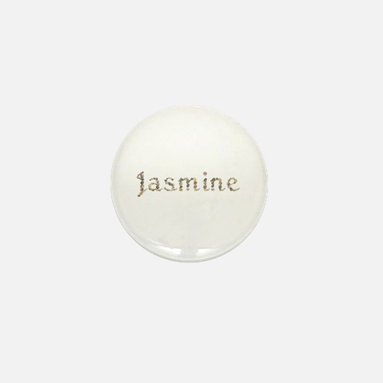 Jasmine Seashells Mini Button