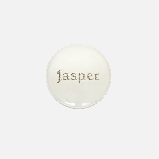 Jasper Seashells Mini Button