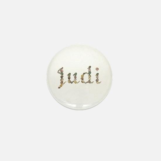 Judi Seashells Mini Button