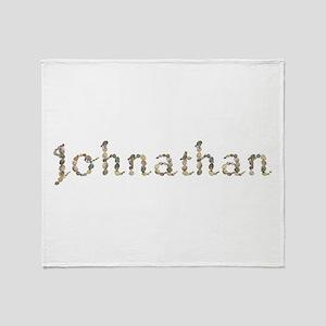 Johnathan Seashells Throw Blanket
