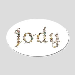 Jody Seashells 20x12 Oval Wall Decal