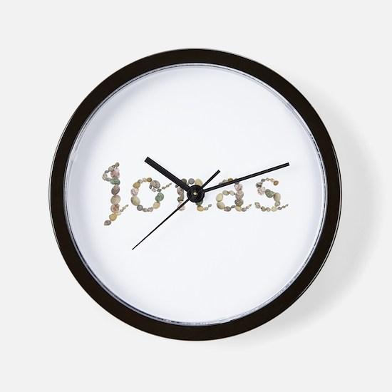 Jonas Seashells Wall Clock