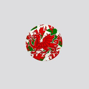 Welsh Dragon - Draig Mini Button
