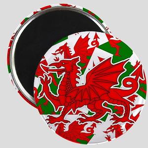 Welsh Dragon - Draig Magnet